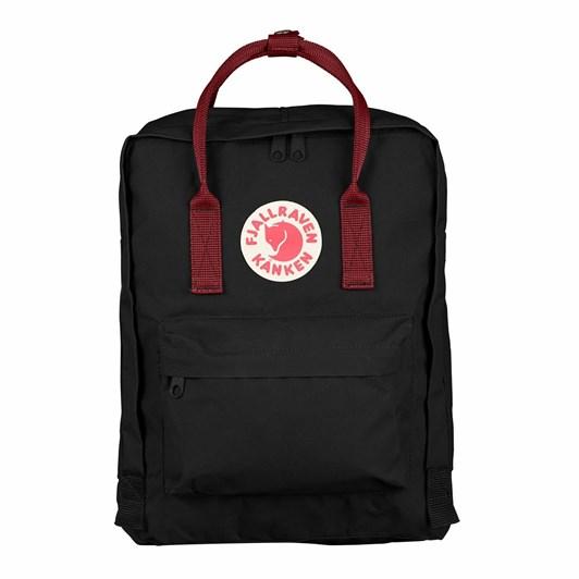 Fjallraven Kånken Black - Ox Red Backpack