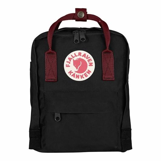 Fjallraven Kånken Mini Black Ox Red Backpack