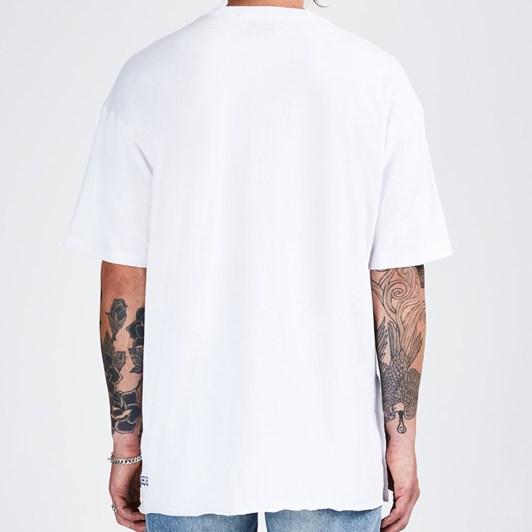 Ksubi Hi Flyer T-Shirt Tru White