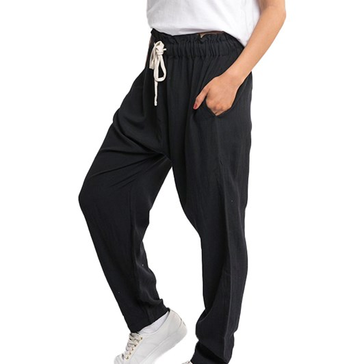 Silent Theory Linen Fluid Pant
