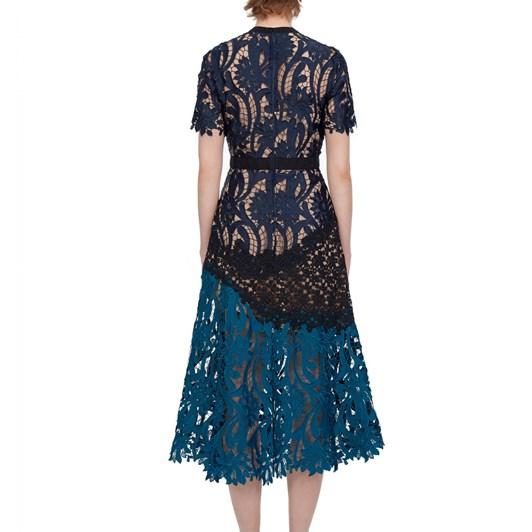 Self-Portrait Prairie Midi Dress