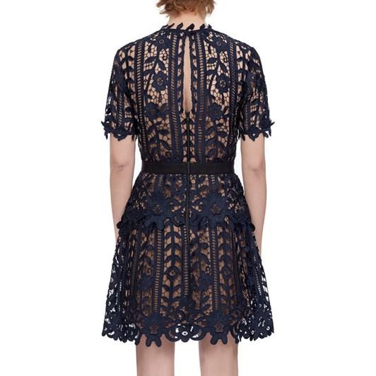 Self-Portrait Lace A-Line Dress