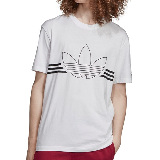 Adidas Outline Trefoil Tee