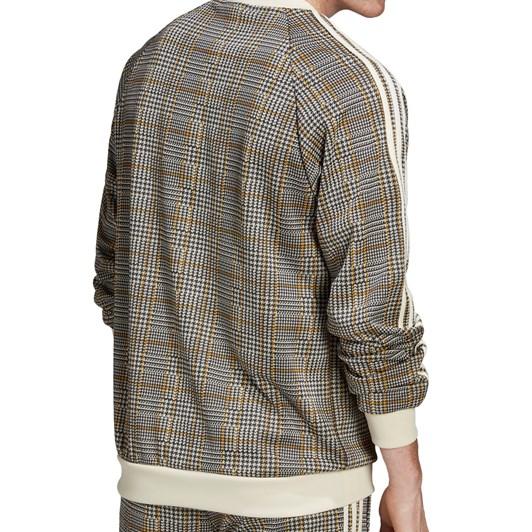 Adidas Tartan Crewneck Sweatshirt