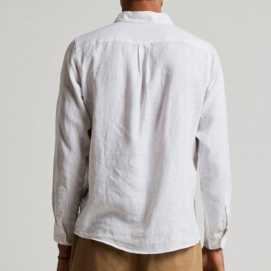 Mr Simple Linen Long Sleeve Shirt