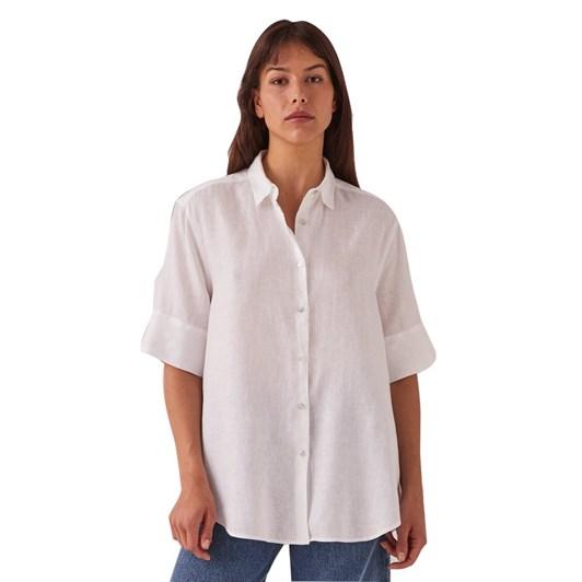 Assembly Label Womens Short Sleeve Shirt