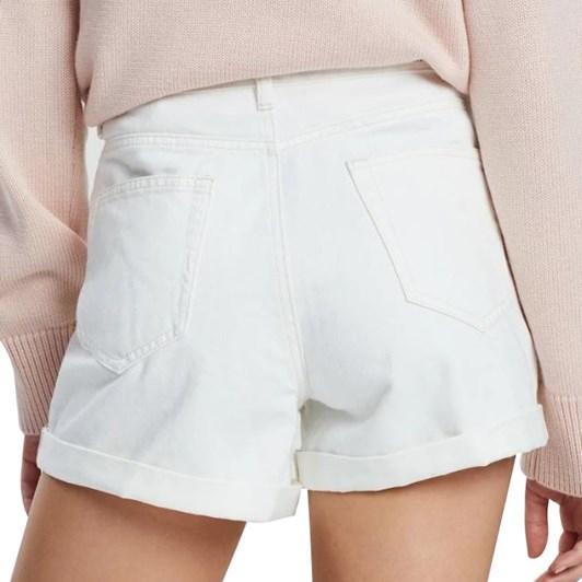 Assembly Label Rolled Hem Shorts