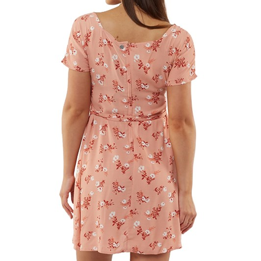 All About Eve Vintage Floral Fit & Flare Dress