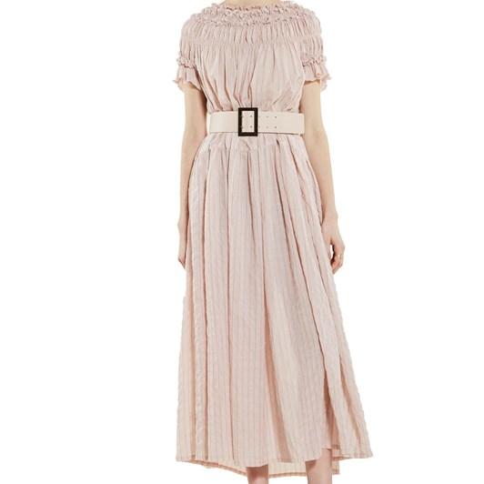 Karen Walker Orestes Ruched Dress