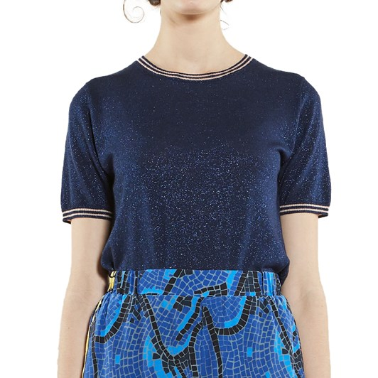 Karen Walker Apollo Knit Tee
