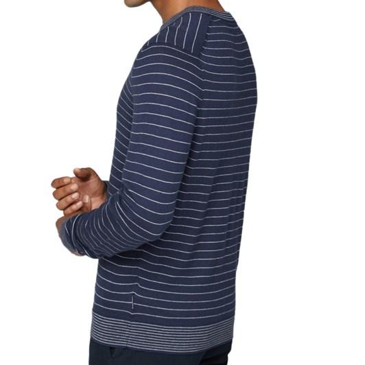 Ben Sherman Fine Stripe Knit