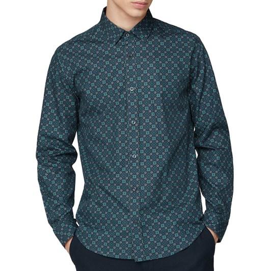 Ben Sherman Foulard Print Shirt