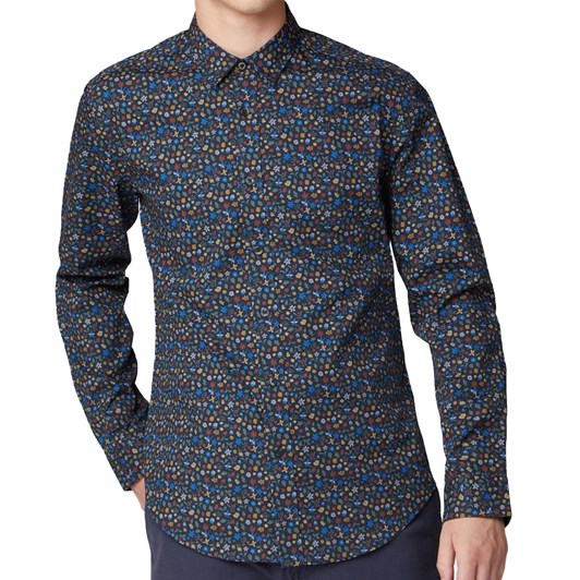 Ben Sherman Multi Colour Floral Shirt