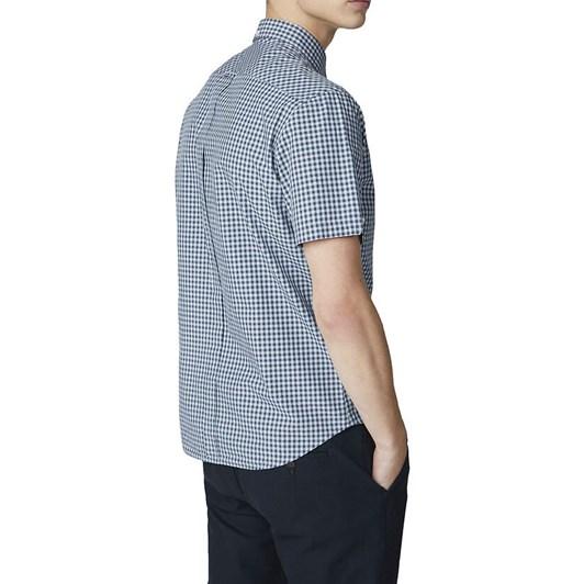 Ben Sherman Short Sleeve Core Gingham Shirt