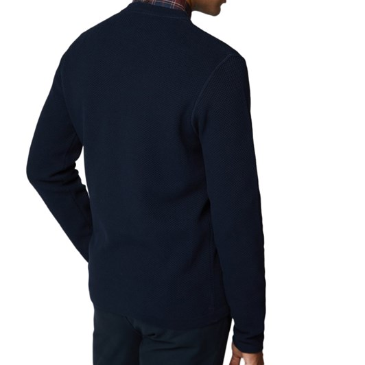 Ben Sherman Airtex Cut & Sew Knit