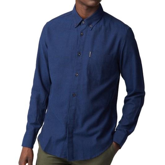 Ben Sherman Long Sleeve Flannel Shirt