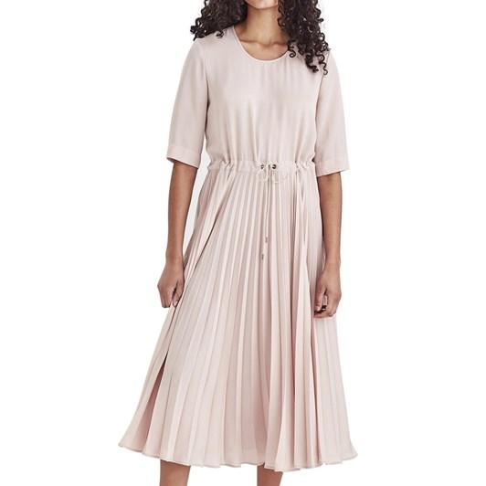 Juliette Hogan Betsy Pleat Dress