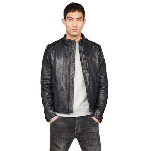 G-Star Biker Leather Jacket