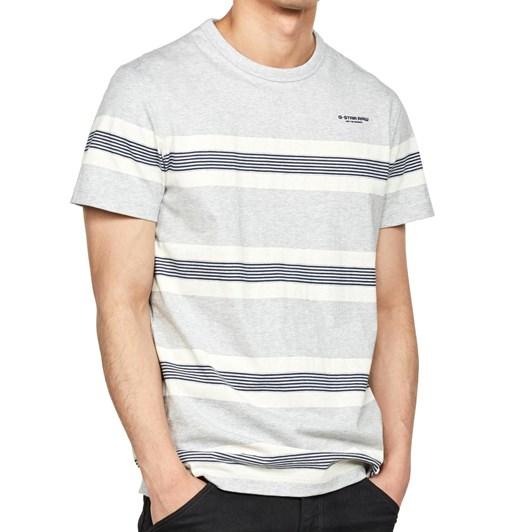 G-Star Stainlo Stripe Ao S/S R T-Shirt