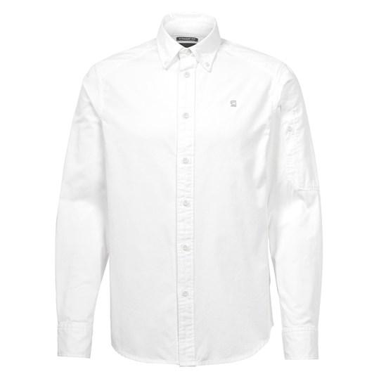 G-Star L/S Stalt Sleeve Pkt Straight Shirt