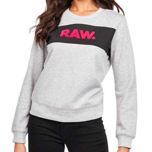 G-Star Xzula Panel Raw Gr R L/S Sweatshirt Wmn