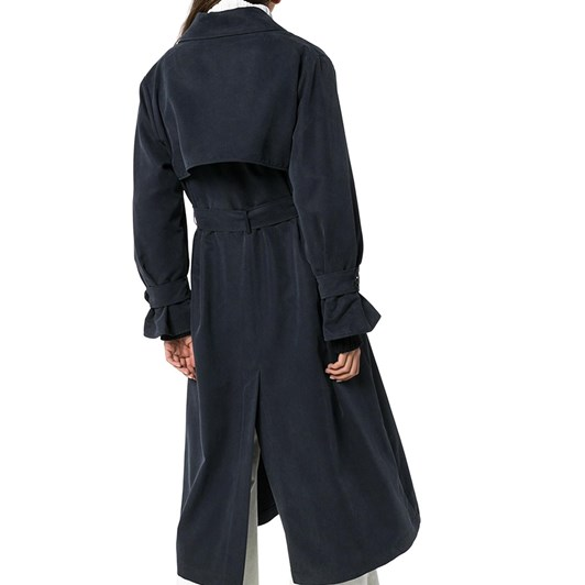 See By Chloé Fluid Denim Trench Coat