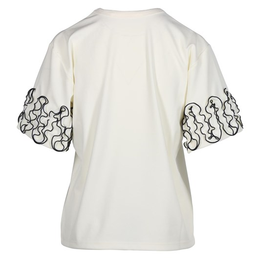 See By Chloe Curl Edge Jersey Top