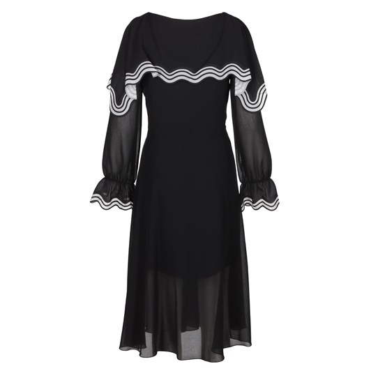 See By Chloe Laser Cut Georgette Dress