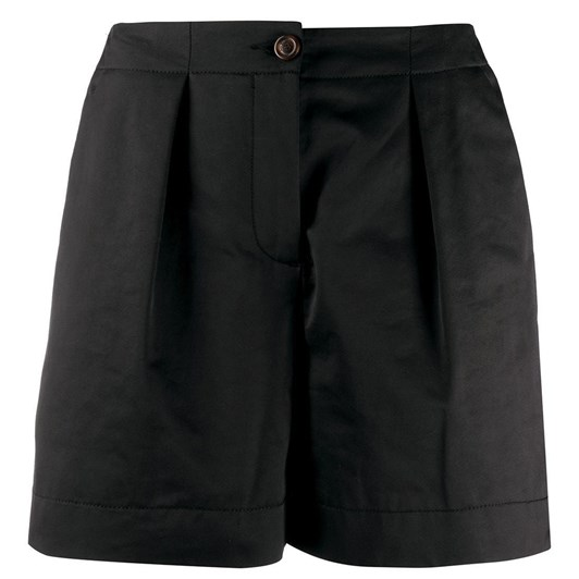 See By Chloe Solid Gabardine Shorts