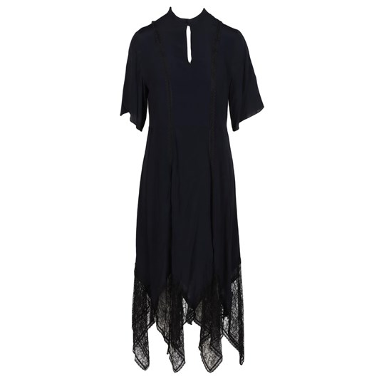 See By Chloe Crepe De Chine And Lace Dress