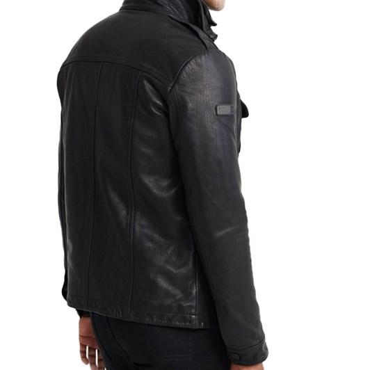 Superdry Icon Brad Leather Jacket