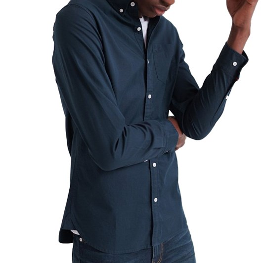 Superdry Classic Twill Long Sleeved Shirt