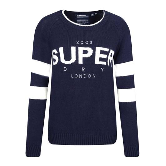 Superdry 90S Logo Intarsia Knit