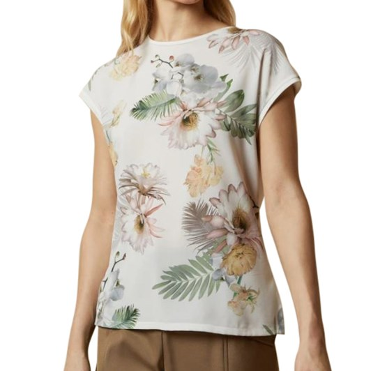 Ted Baker Woodland Woven Front Top
