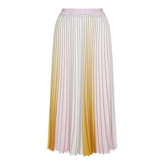 Ted Baker Ombre Pleated Skirt