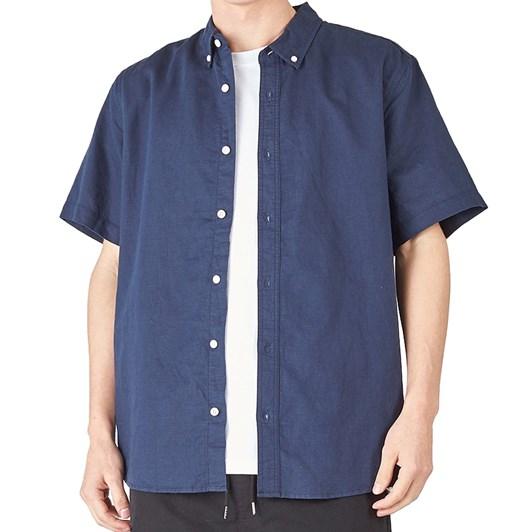 Huffer S/S Lin-In Shirt