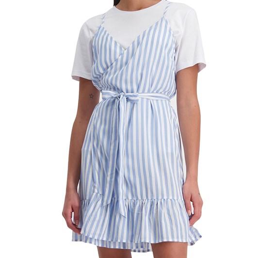 Huffer Farrow Wrap Dress