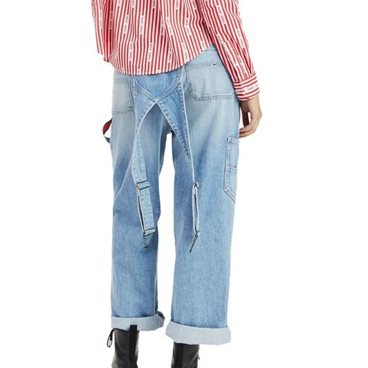Tommy Jeans Stonewashed Dunagrees
