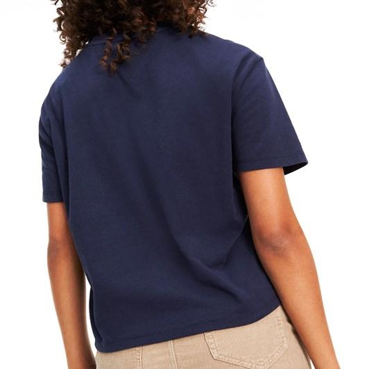 Tommy Jeans Tjw Stripe Logo Tee