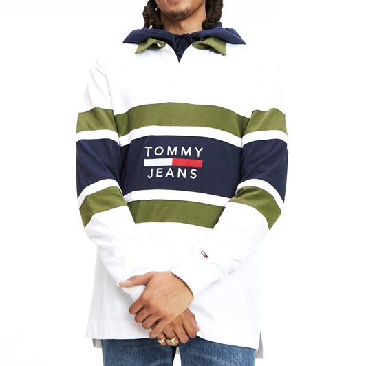Tommy Jeans Long Sleeve Rugby Shirt