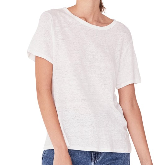 Assembly Label Linen Tee
