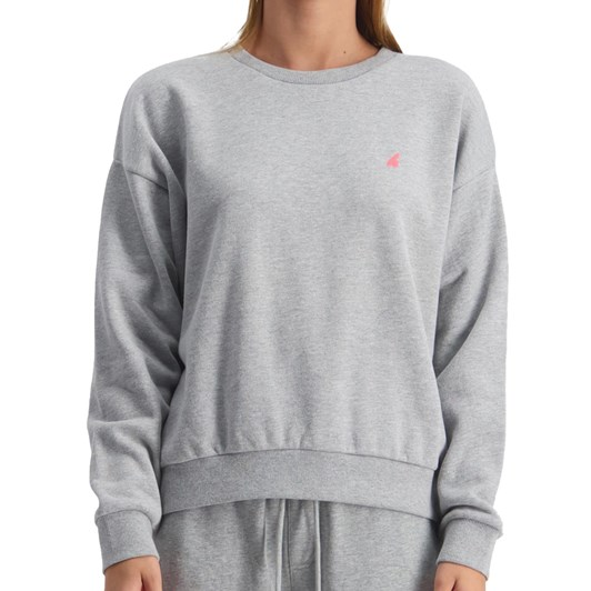 Huffer Lila Slouch Crew