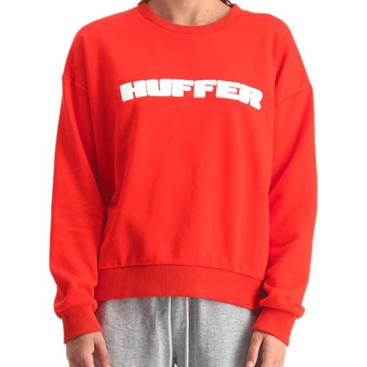 Huffer Slouch Crew / Hfr Cardinal