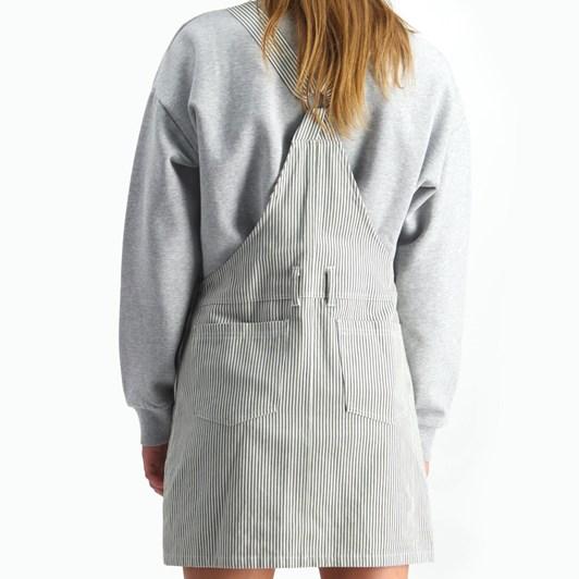 Huffer Pinstripe Dungaree Dress