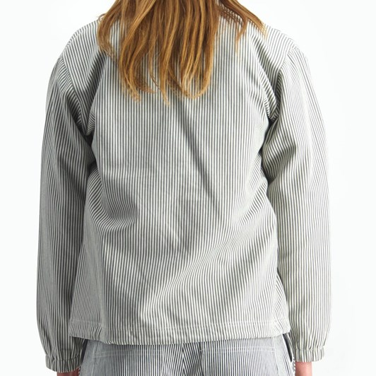Huffer Pinstripe Coaches Jacket