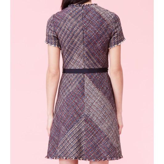 Rebecca Taylor Blanket Tweed Dress