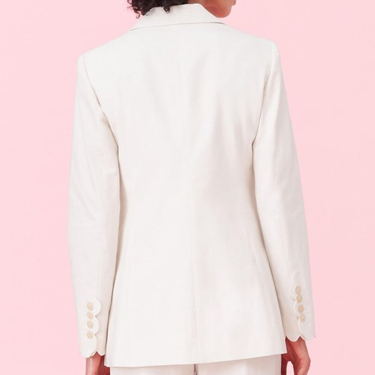 Rebecca Taylor Scalloped Suiting Jacket
