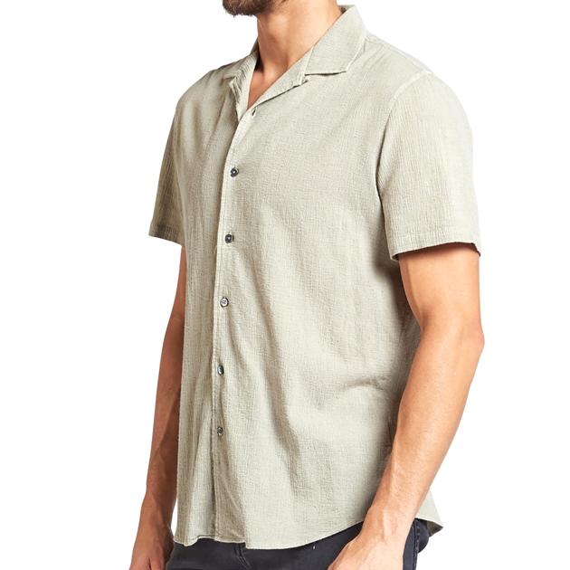 Academy Brand Bedford Shirt - stone