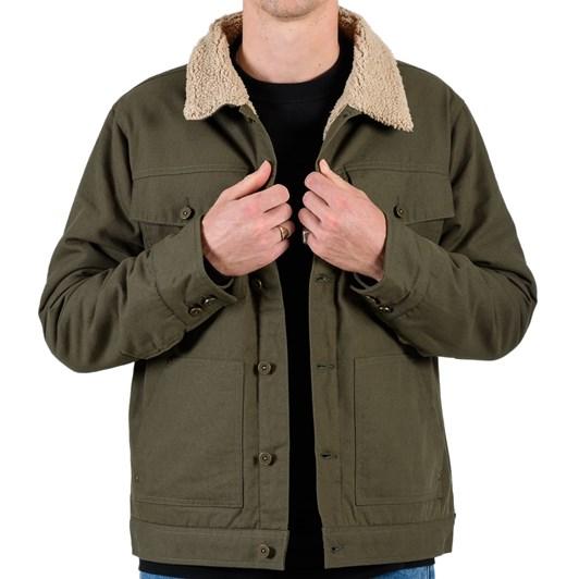 Mr Simple Sherpa Jacket - Canvas