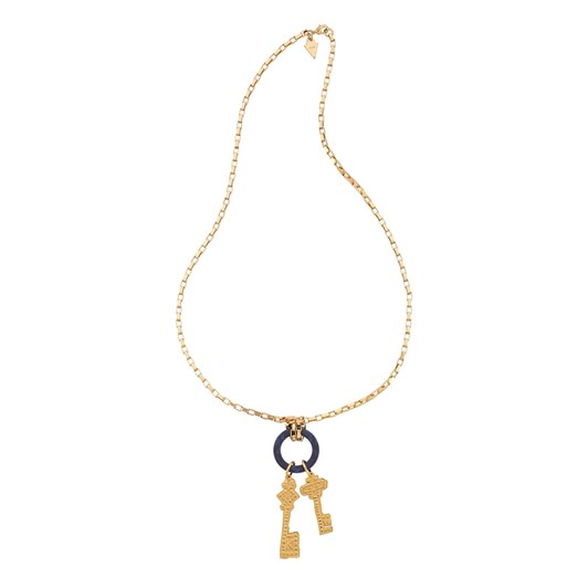 Karen Walker Mosaic Key Necklace